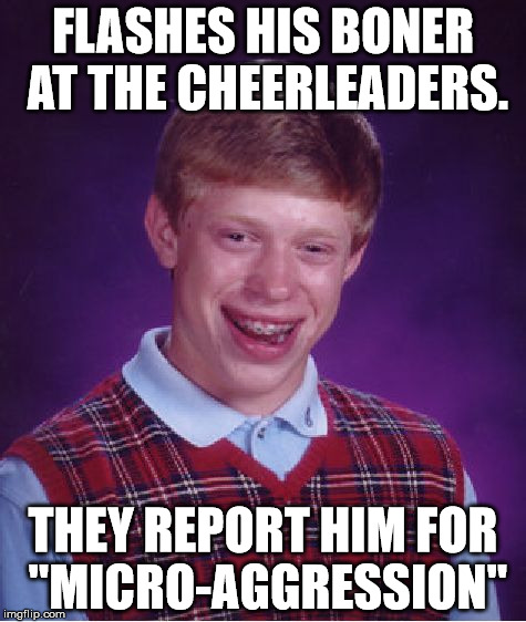 "NSFW Filth Week, June 19-25 - an Octavia_Melody event | FLASHES HIS BONER AT THE CHEERLEADERS. THEY REPORT HIM FOR ""MICRO-AGGRESSION"" 
