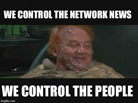 He who controls the news controls the country | WE CONTROL THE NETWORK NEWS WE CONTROL THE PEOPLE | image tagged in control the spice,fake news,memes | made w/ Imgflip meme maker