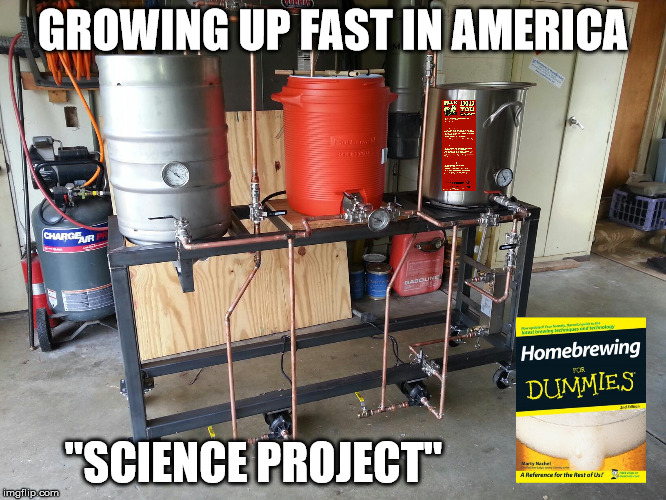 "GROWING UP FAST IN AMERICA ""SCIENCE PROJECT"" 