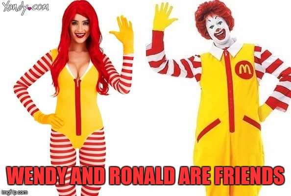 WENDY AND RONALD ARE FRIENDS | made w/ Imgflip meme maker