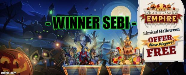 - WINNER SEBI -  made w Imgflip meme maker