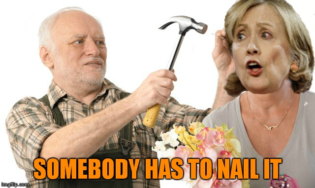 SOMEBODY HAS TO NAIL IT | made w/ Imgflip meme maker