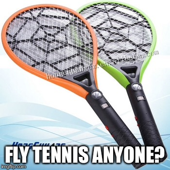 FLY TENNIS ANYONE? | made w/ Imgflip meme maker