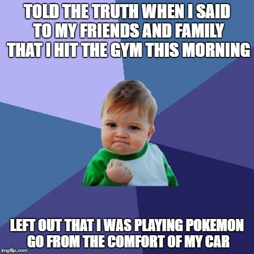 "I LOVE that they are called ""gyms"" in the game! 