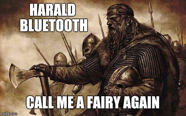 HARALD BLUETOOTH CALL ME A FAIRY AGAIN | made w/ Imgflip meme maker