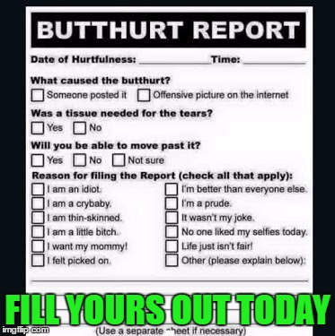 FILL YOURS OUT TODAY | made w/ Imgflip meme maker