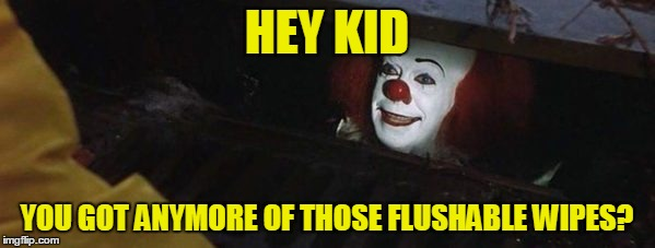 HEY KID YOU GOT ANYMORE OF THOSE FLUSHABLE WIPES? | made w/ Imgflip meme maker