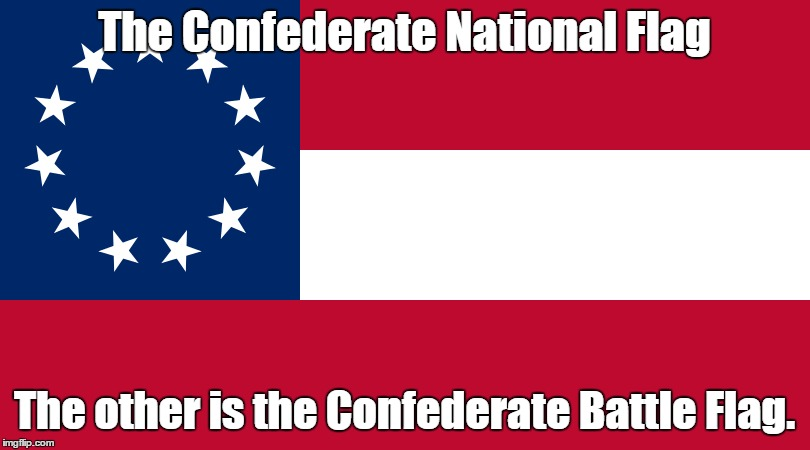 Confederate National Flag | The Confederate National Flag The other is the Confederate Battle Flag. | image tagged in confederate,confederate flag,national flag,flag,real confederate flag | made w/ Imgflip meme maker