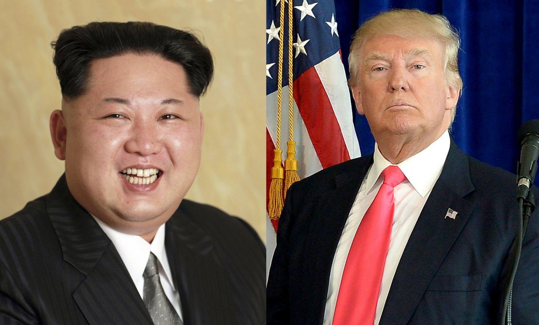 Kim Jong Un And Trump Blank Template Imgflip