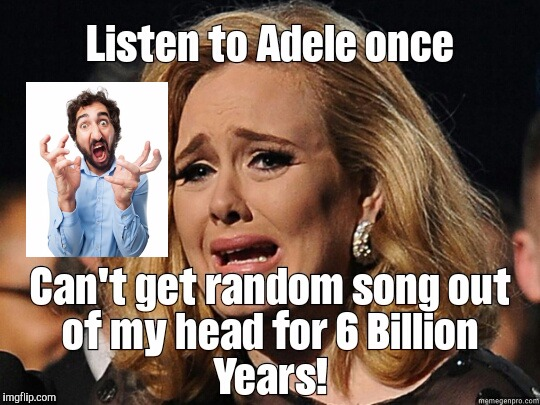 image tagged in adele,song,water,dogs,cats,sex | made w/ Imgflip meme maker