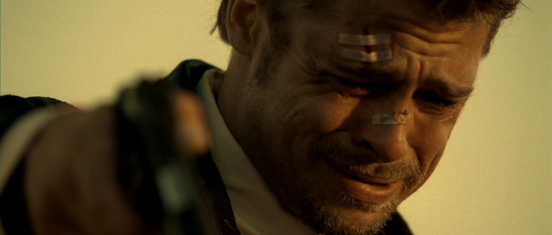 High Quality Brad Pitt 7 Whats In The Box Blank Meme Template
