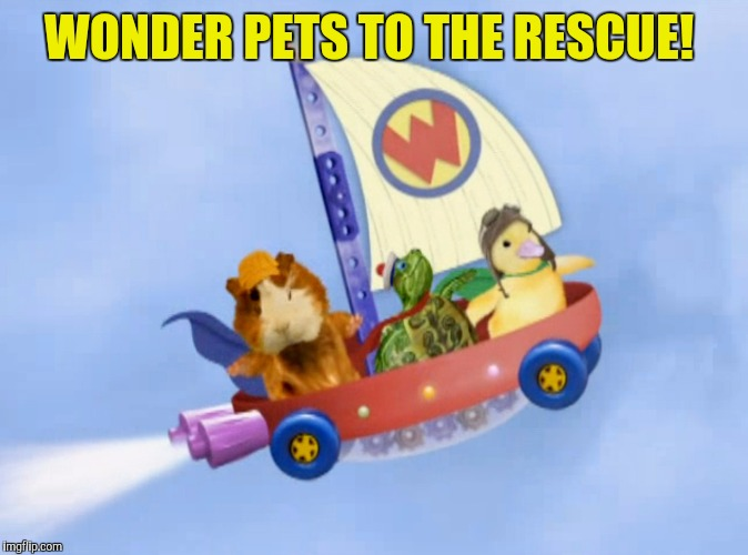 WONDER PETS TO THE RESCUE! | made w/ Imgflip meme maker