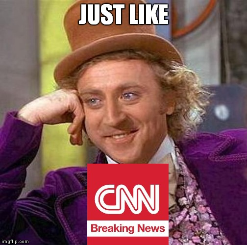 Creepy Condescending Wonka Meme | JUST LIKE | image tagged in memes,creepy condescending wonka | made w/ Imgflip meme maker