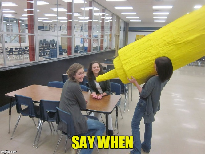 SAY WHEN | made w/ Imgflip meme maker