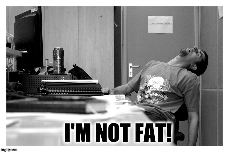 I'M NOT FAT! | made w/ Imgflip meme maker
