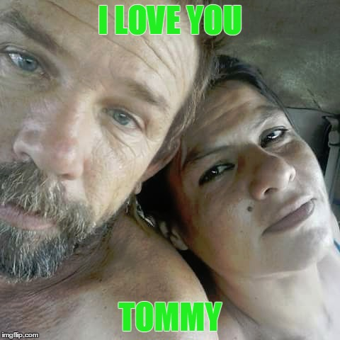us |  I LOVE YOU; TOMMY | image tagged in us,tommy,jennifer | made w/ Imgflip meme maker