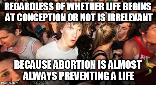 "For this reason, it's one of the few issues I'm ""right-wing"" on...  