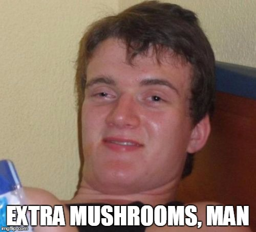 10 Guy Meme | EXTRA MUSHROOMS, MAN | image tagged in memes,10 guy | made w/ Imgflip meme maker