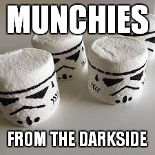 MUNCHIES FROM THE DARKSIDE | made w/ Imgflip meme maker