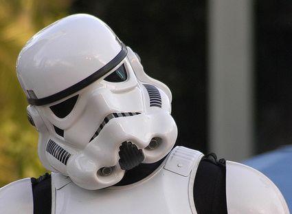 confused stormtrooper blank template imgflip