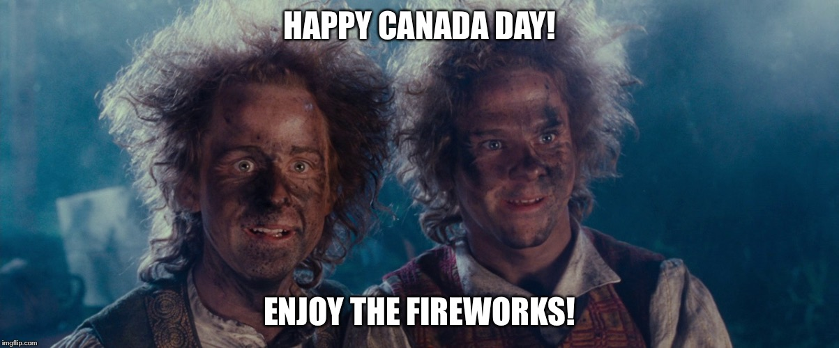 Fireworks | HAPPY CANADA DAY! ENJOY THE FIREWORKS! | image tagged in fireworks | made w/ Imgflip meme maker