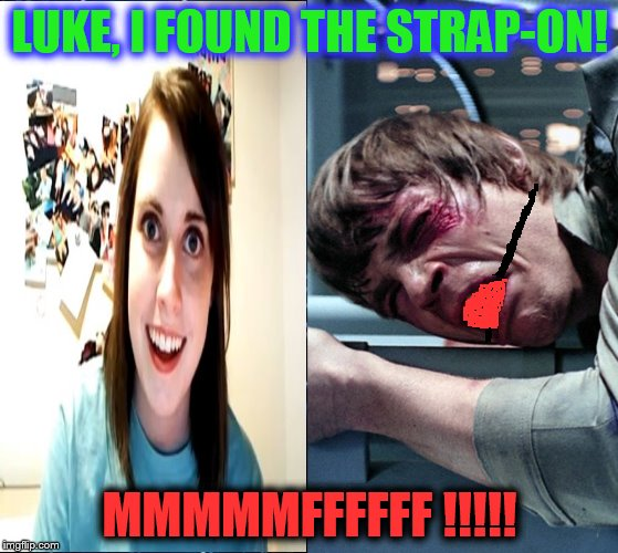 """Overly"" ""forces"" luke 