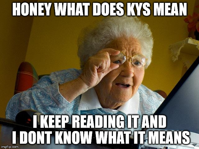 What does kys mean in a text