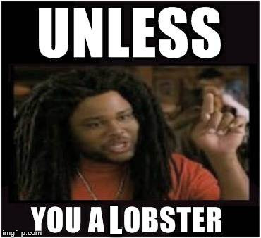 Lobster | L | image tagged in lobster | made w/ Imgflip meme maker