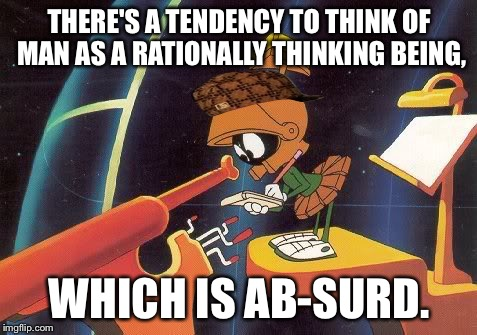 """There's simply no evidence of any intelligence on the earth."" 