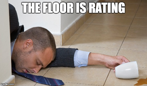 THE FLOOR IS RATING | made w/ Imgflip meme maker
