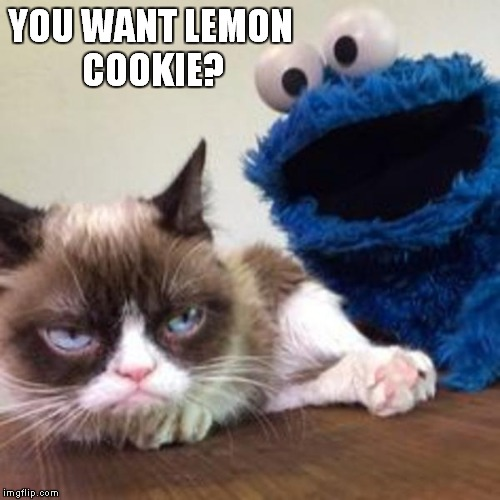 YOU WANT LEMON COOKIE? | made w/ Imgflip meme maker