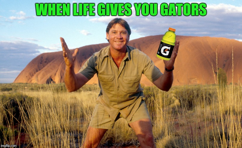 WHEN LIFE GIVES YOU GATORS | made w/ Imgflip meme maker