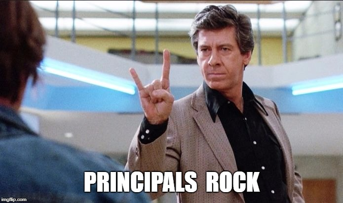 Don't Mess With the Bull! | PRINCIPALS  ROCK | image tagged in breakfast club,horns,principal | made w/ Imgflip meme maker
