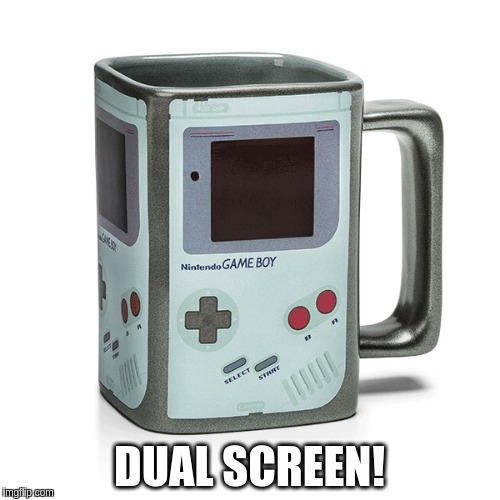 DUAL SCREEN! | made w/ Imgflip meme maker