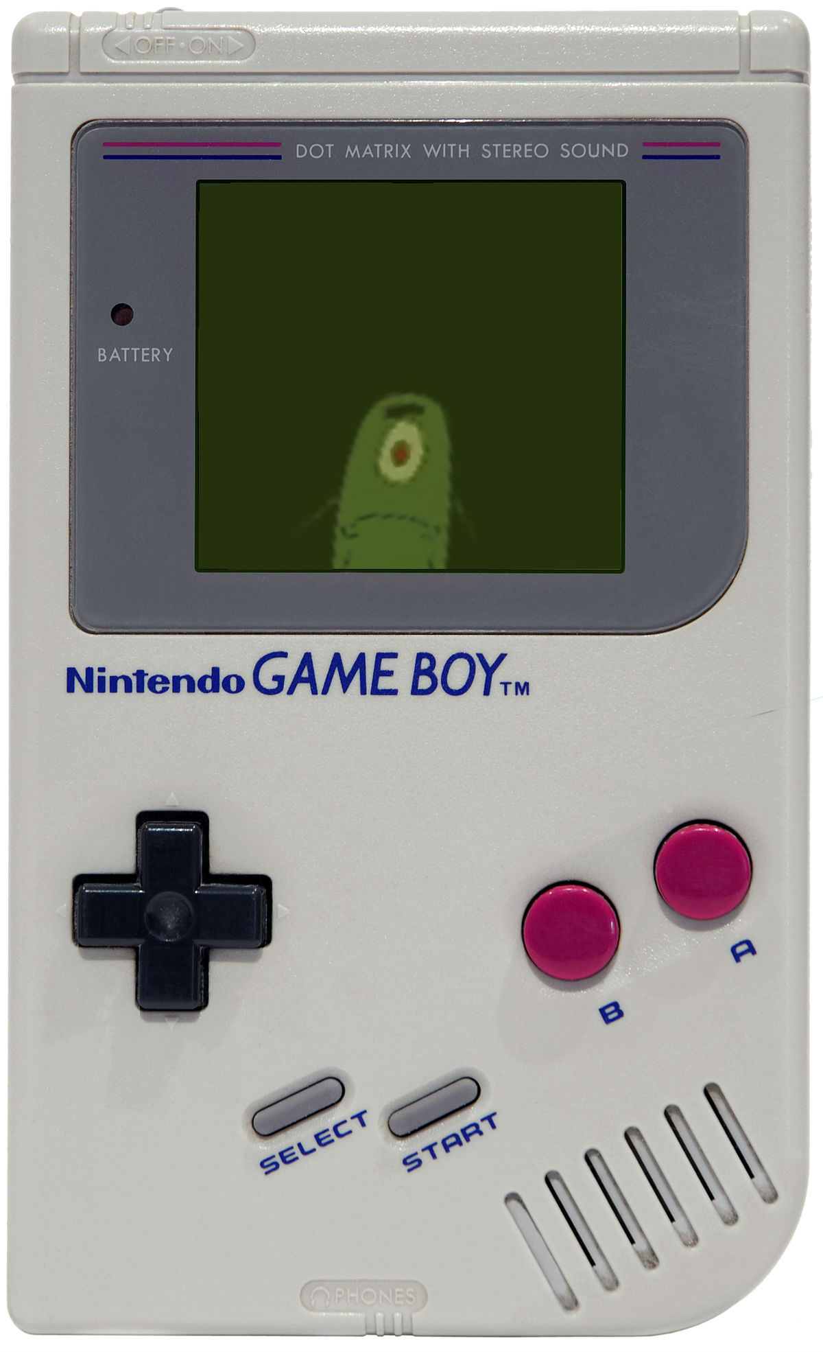 plankton for game boy blank template imgflip