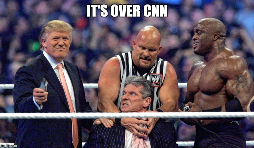 IT'S OVER CNN | made w/ Imgflip meme maker