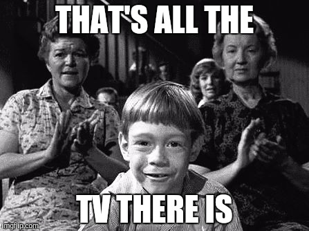 THAT'S ALL THE TV THERE IS | image tagged in twilight | made w/ Imgflip meme maker