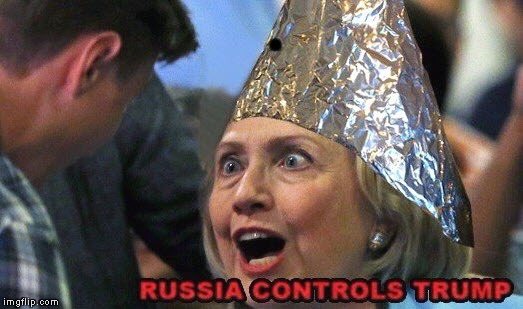 . | image tagged in tinfoil hat hillary | made w/ Imgflip meme maker