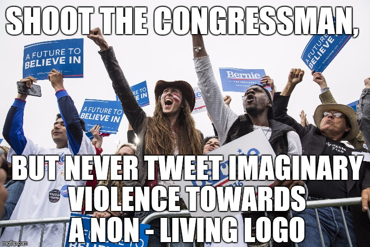 "Because the Tweet was too ""immature"" 