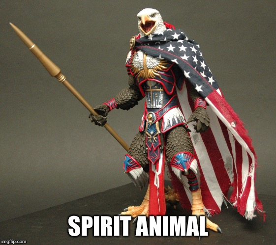 SPIRIT ANIMAL | image tagged in merca | made w/ Imgflip meme maker
