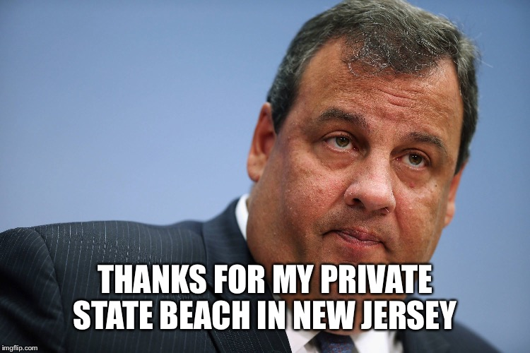 THANKS FOR MY PRIVATE STATE BEACH IN NEW JERSEY | made w/ Imgflip meme maker