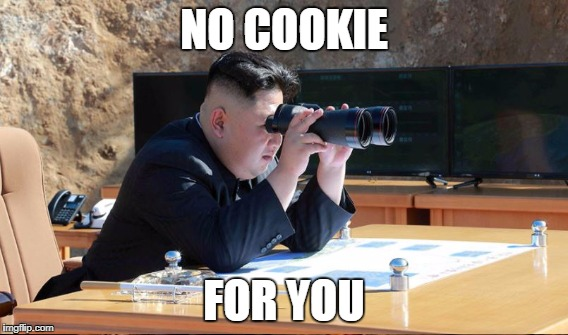 NO COOKIE FOR YOU | made w/ Imgflip meme maker