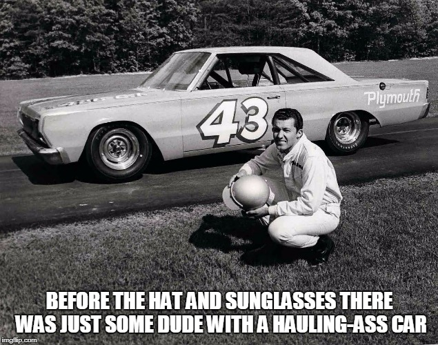 BEFORE THE HAT AND SUNGLASSES THERE WAS JUST SOME DUDE WITH A HAULING-ASS CAR | made w/ Imgflip meme maker