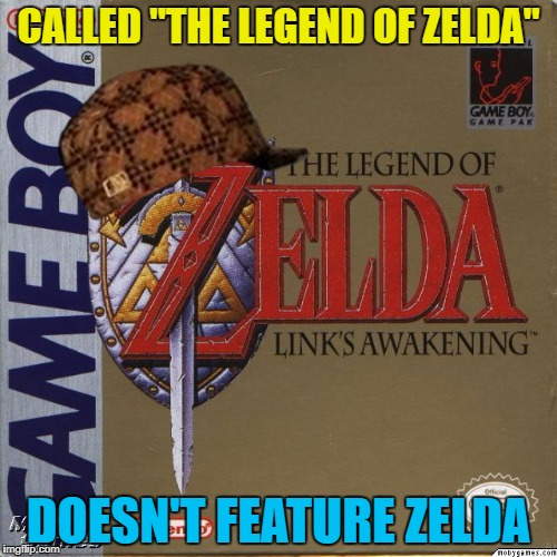 "It was (and is) a great game. Game boy week continues... :) | CALLED ""THE LEGEND OF ZELDA"" DOESN'T FEATURE ZELDA 