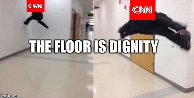 The floor is | THE FLOOR IS DIGNITY | image tagged in the floor is | made w/ Imgflip meme maker