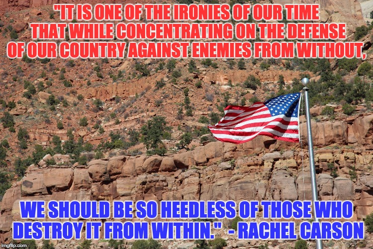 """IT IS ONE OF THE IRONIES OF OUR TIME THAT WHILE CONCENTRATING ON THE DEFENSE OF OUR COUNTRY AGAINST ENEMIES FROM WITHOUT, WE SHOULD BE SO H 