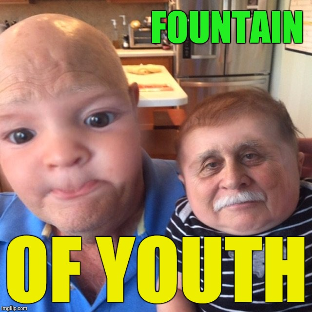Ponce de León finally found the fountain of youth.  Don't do it. | FOUNTAIN OF YOUTH | image tagged in memes,fountain of youth | made w/ Imgflip meme maker