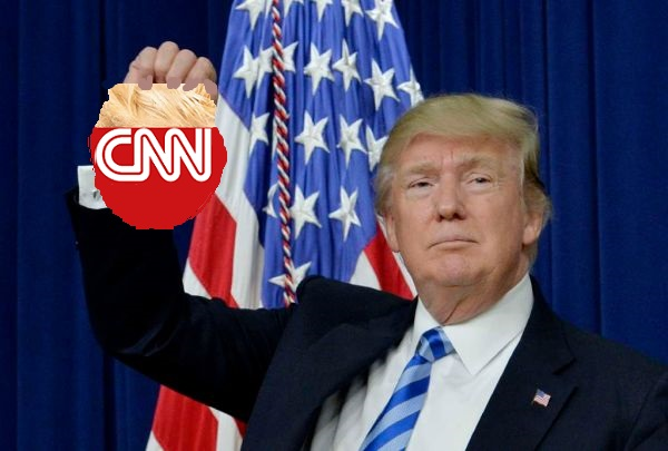Trump CNN Meme Template