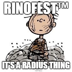 Pigpen | RINOFEST™ IT'S A RADIUS THING | image tagged in pigpen | made w/ Imgflip meme maker