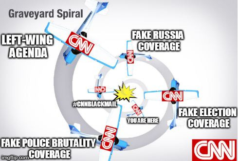 CNN's Downward Spiral | image tagged in cnnblackmail,cnn fake news,so true memes,maga,trump,dank memes | made w/ Imgflip meme maker